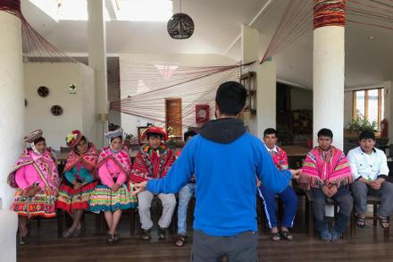 Mountain Lodges of Peru's new creative initiative